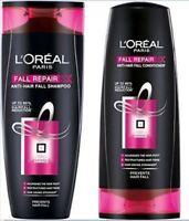 L'Oreal Paris Fall Repair 3X Anti-hair Fall Shampoo 360ml & Conditioner 175ml