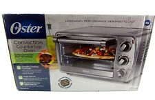 Oster 6 Slice TSSTTVCG05 Turbo Convection Toaster Oven Brushed Stainless Steel
