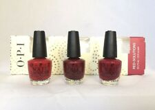 Red-Solutions by Opi Mini 3 Piece Nail Lacquer Polish - Each Bottle .125 Fl Oz
