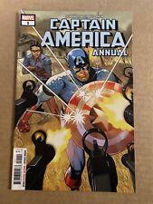Captain America Annual #1 Variant Cover First Print Marvel Comics (2018) Bucky