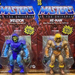 MATTEL MOTU Masters of the Universe Origins He-Man and Skeletor Set of 2 Figures