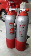 Aralu coppia Bombole Sub in alluminio.
