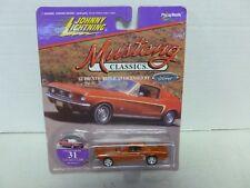 Johnny Lightning Mustang Classics 1968 Mustang Gt No 31