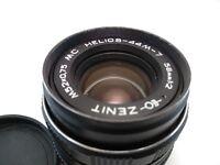 MC Helios 44M-7 58mm f/2 M42 Russian Lens USSR for SLR Vintage lens Zenit Pentax