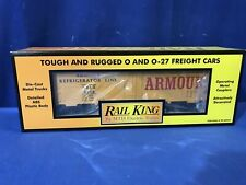 Rail King MTH 30-7818 ARMOUR REEFER CAR FREE SHIPPING