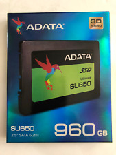 "ADATA SU650 960GB 3D-NAND 2.5"" SATA III SSD ASU650SS-960GT-C"