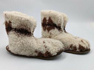 Women's/Men's Pure New Wool Pile Made In Ireland Boot's/Slipper's