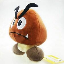 6'' Super Mario Bros.Sad Goomba Stuffed Plush Doll Toy Cute Gift new