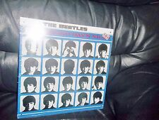 """THE BEATLES METAL """" A HARD DAY'S NIGHT """" ALBUM SLEEVE WALL SIGN - PLAQUE APPLE"""