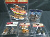 Lot (5) Lemax Assorted Dock and Nautical Accessories HE459