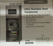 Hinkley Lighting 0300SS, Landscape Transformer 300 Watt In Stainless Steel