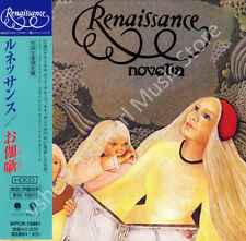 RENAISSANCE NOVELLA CD MINI LP OBI Yardbirds Annie Haslam Michael Dunford new