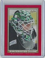 2005-06 JEAN-SEBASTIEN GIGUERE UPPER DECK BEEHIVE RED PARALLEL #3