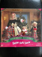 Barbie Holiday Sisters Special Edition 1998 Gift Set Barbie, Kelly, Stacie NRFB