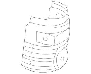 Genuine Toyota Heat Shield 25586-0H010