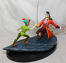 Extremely Rare! Walt Disney Peter Pan Fighting Captain Hook LE of 250 Statue
