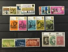 Great Britain - Five 1970 Complete Mint Never Hinged Sets.