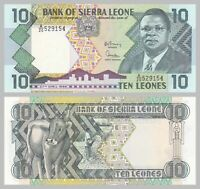 Sierra Leone 10 Leones 1988 p15 unz.