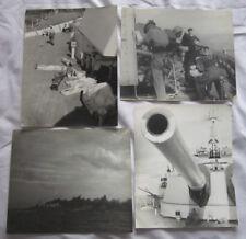 4 Royal Navy Naval Photographs Eastern Fleet 1944 Japan Nicobar Islands