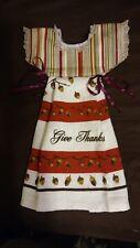 OVEN DOOR TOWEL DRESS STYLE THANKSGIVING TOWEL HANG OVER STYLE GIFT
