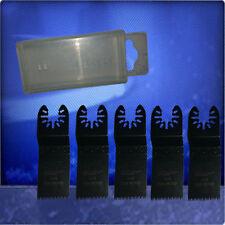 5 lame 32mm Japan Lama TESTINE PER DREMEL Multi Max mm20 con BOX