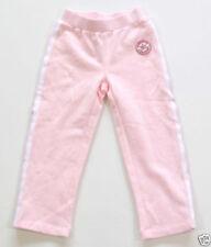 Vêtements de sport pantalons de survêtement rose pour fille de 2 à 16 ans