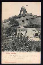 81855 AK Kamyk Kamaik bei Leitmeritz Ruine 1904 Brück & Sohn Meissen