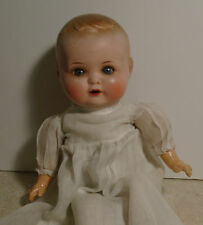 Bahr & Proschild Doll Germany #600 Composition /Cloth Baby Doll Glass Eyes Orig.