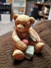 "Cherished Teddies Seth ""School Days"" September Figurine 914835"