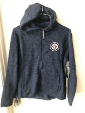 Winnipeg Jets Women's XL Full Zip Hoodie Sweatshirt New Nhl GIII Hockey