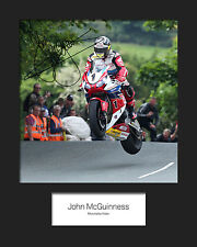 JOHN MCGUINNESS #1 Signed 10x8 Mounted Photo Print (REPRINT) - FREE DELIVERY