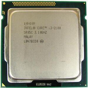 Processeur pour pc de bureau Intel Core i3 2100 3.1 GHz Socket LGA1155
