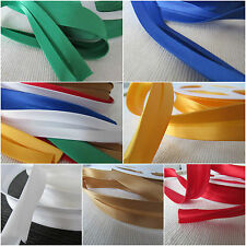 Satin woven acetate Bias Binding Tape 19mm - per 5 mtrs - choice of colours