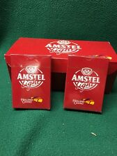 'AMSTEL LIGHT' BEER - Playing Cards Factory Sealed NEW  Holland Casino Decks