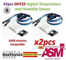 2pcs DHT22 Digital Temperature Humidity Sensor AM2302 Module with PCB and Cable