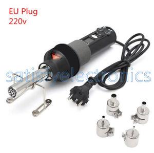 220V 450W 450℃ LCD Soldering Station Hot Air Gun ICs SMD Desolder For BGA Nozzle