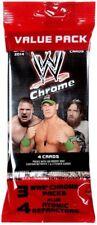 WWE Wrestling 2014 WWE Chrome Trading Card Value Pack
