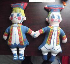 """RARE Vintage 1970s Philadelphia Phillies Phil & Phillis Dolls 16"""" Tall"""