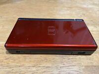 Nintendo DS Lite Handheld Console Crimson Red / Black TESTED