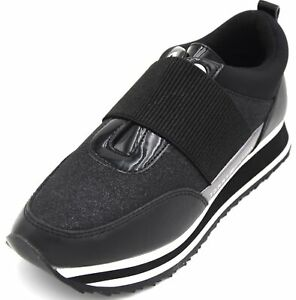 TOMMY HILFIGER WOMAN SNEAKER SLIP ON SHOES SPORT CASUAL TRAINERS CODE FW0FW03336