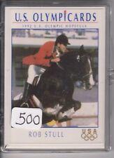 (500) 1992 US OLYMPIC HOPEFULS ROB STULL CARDS #55 ~ GIANT LOT ~ PENTATHLON