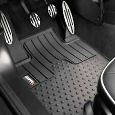 5 Pc OEM Mini Cooper R56 All Weather Rubber Floor Mat Set Cooper S Logo Badge