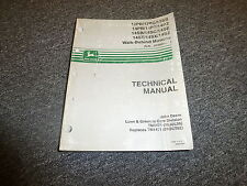 John Deere 14SB 14SC 14SE Walk Behind Mower Shop Service Repair Manual TM1471