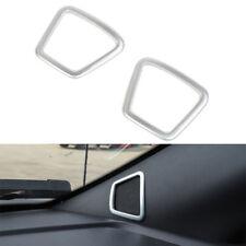 Car A pillor Speaker Cover Frame Molding Trim ABS Chrome For Ford F150 2015-2017