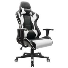 Gaming Chair Racing Style High-back Leather Office Chair Computer Desk Chair