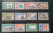 GILBERT & ELLICE ISLANDS 1939 KG VI 1/2d to 5s SG 43 - 54 Sc 27 - 31 set 12 MNH