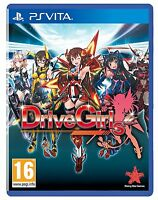 Drive Girls [Sony PlayStation Vita, Babes, Action, Driving, Hack and Slash] NEW