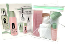 $125 Clinique 7 Pcs Great Skin Anywhere Gift Set Skin Types 3 Gift Set NEW