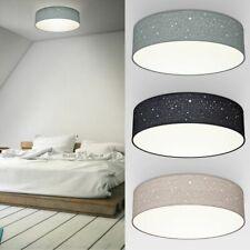 Deckenleuchte Stoff Sternen-Licht Textil Lampe Kinderzimmer Schlafzimmer