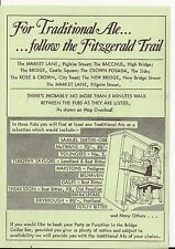 'The Fitzgerald Trail' - Newcastle - flyer c1985 - free pp(UK)
